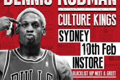Dennis Rodman Sydney Events